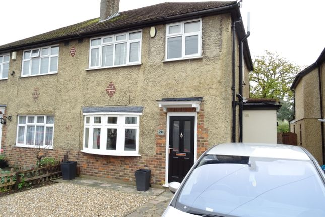 Thumbnail Semi-detached house for sale in Holly Avenue, New Haw