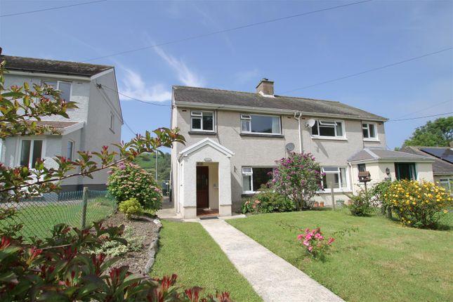 Thumbnail Semi-detached house for sale in Llangrannog, Llandysul