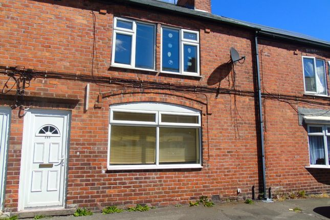 Thumbnail Terraced house to rent in Devonshire Street, New Houghton, Mansfield