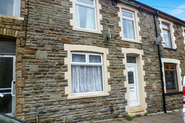 Thumbnail Terraced house for sale in Wyndham Street, Evanstown, Porth