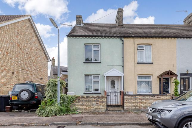Thumbnail End terrace house for sale in Station Road, Arlesey, Bedfordshire