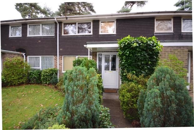 Thumbnail Terraced house for sale in Troutbeck Walk, Heatherside, Camberley