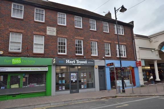 Thumbnail Flat to rent in Fleet Road, Fleet