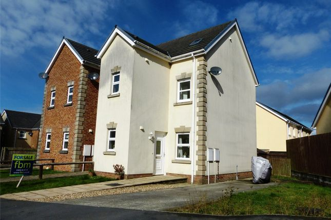 Thumbnail Semi-detached house for sale in Maes Abaty, Whitland, Carmarthenshire