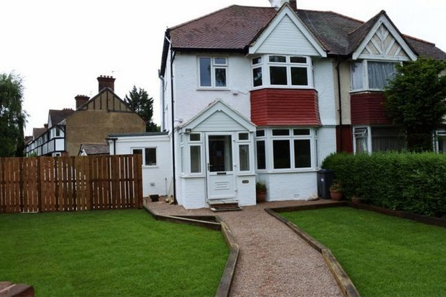 Thumbnail Semi-detached house to rent in Princes Avenue, Acton, London