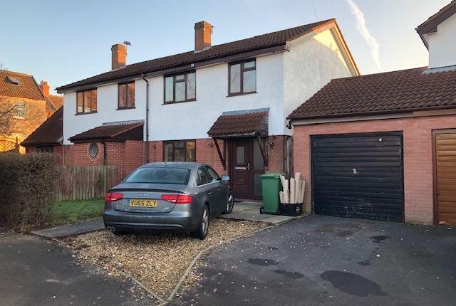 Thumbnail Semi-detached house to rent in Bignal Rand Close, Wells