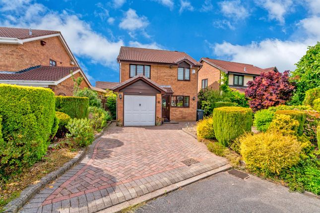 Thumbnail Detached house for sale in Yelverton Close, Turnberry/ Bloxwich, Walsall