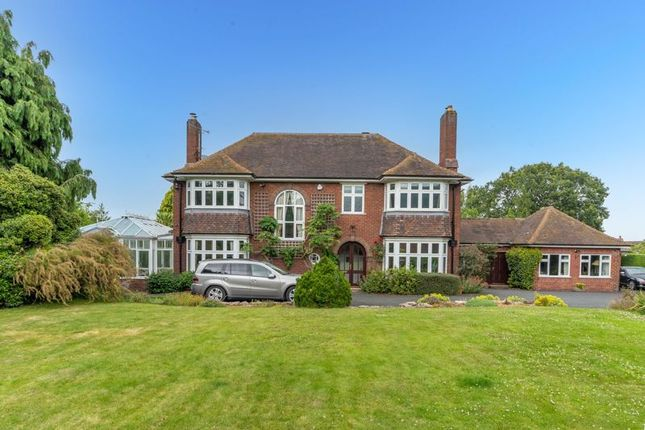 Thumbnail Detached house for sale in Holyhead Road, Wellington, Telford