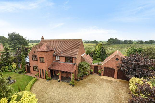 Thumbnail Detached house for sale in The Meadows, South Wootton, King's Lynn