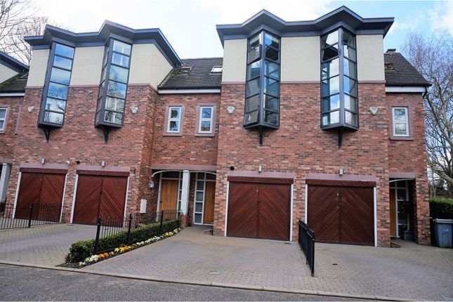 Thumbnail Town house for sale in Bedells Lane, Wilmslow