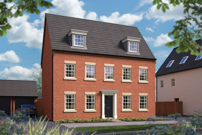 "Thumbnail Detached house for sale in ""The Stratford"" at Harbury Lane, Heathcote, Warwick"