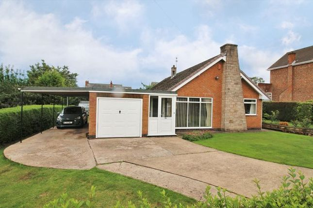 Thumbnail Detached bungalow for sale in Thelda Avenue, Keyworth, Nottingham