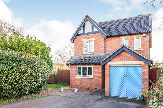 Thumbnail Detached house for sale in Orchard Close, Hilton, Derby
