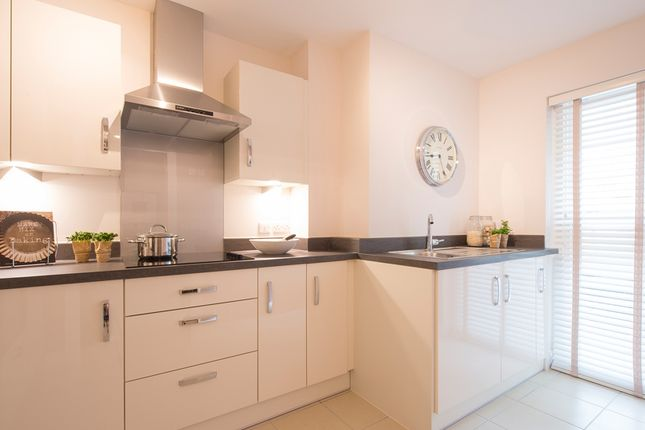 Thumbnail Flat for sale in Bakers Way, Exeter