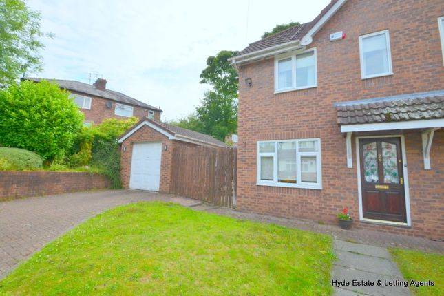 Thumbnail Semi-detached house to rent in Canterbury Drive, Prestwich, Manchester