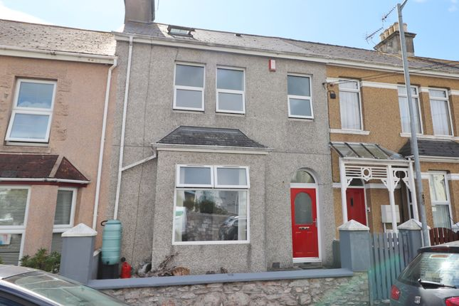 Thumbnail Terraced house to rent in North Road, Torpoint
