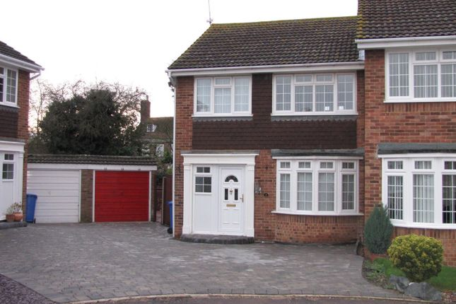 Thumbnail Semi-detached house to rent in Russell Close, Sittingbourne