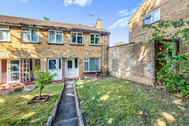 Thumbnail End terrace house for sale in Bishops Rise, Hatfield
