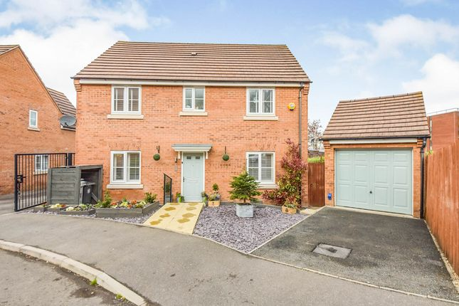 Thumbnail Detached house for sale in Eyam Way, Grantham