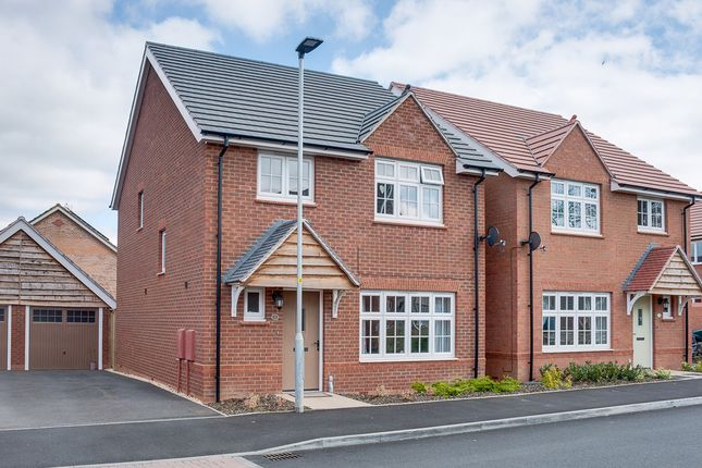 Thumbnail Detached house for sale in Turntable Avenue, Aston Fields, Bromsgrove