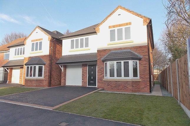 Thumbnail Detached house for sale in Rectory Road, Breaston, Derby