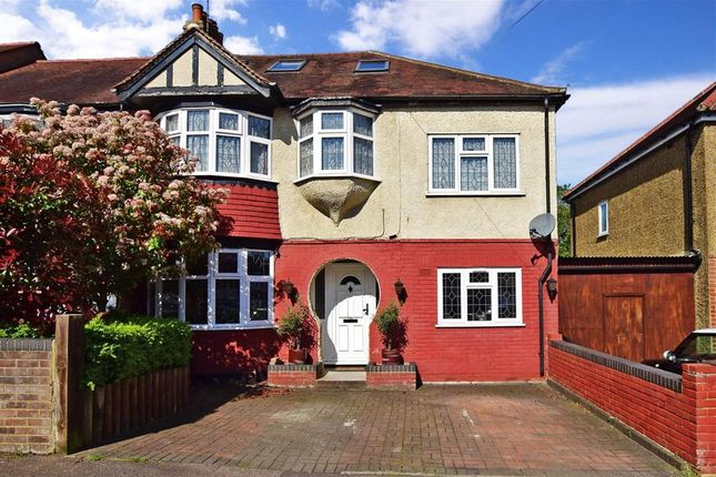 Thumbnail End terrace house for sale in Grafton Avenue, Rochester, Kent