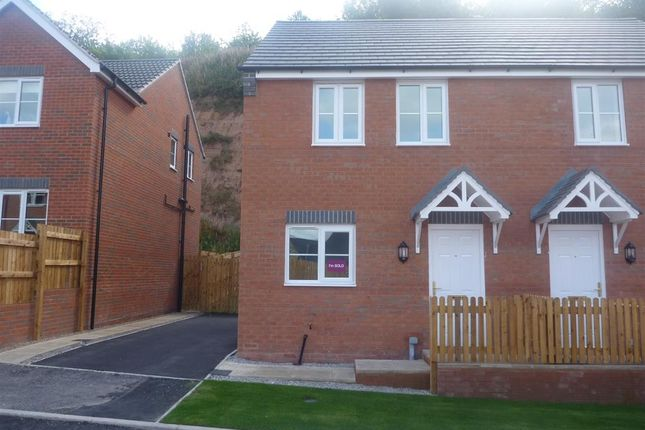 Thumbnail Semi-detached house to rent in Bank End Close, Mansfield