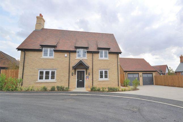 Thumbnail Detached house for sale in Hill Place, Brington, Huntingdon, Cambridgeshire