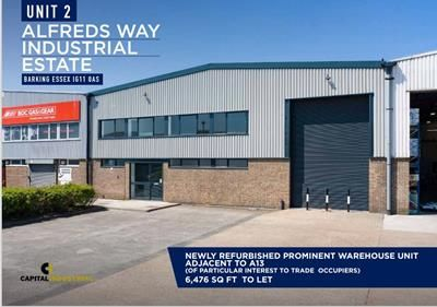 Light industrial to let in Unit 2, Alfreds Way Industrial Estate, Barking, Essex