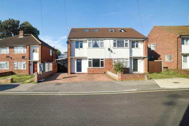 Thumbnail Semi-detached house for sale in Ferndale Crescent, Cowley, Uxbridge