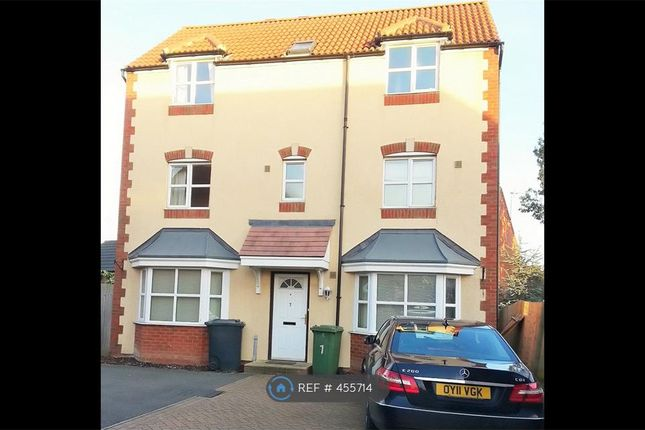 Thumbnail Detached house to rent in Evergreen Drive, Peterborough