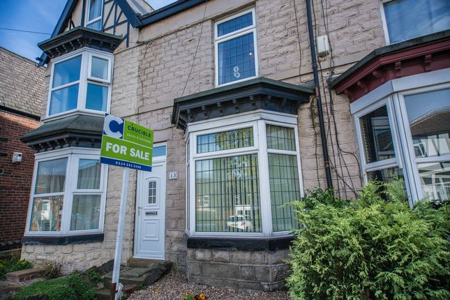 Thumbnail Terraced house for sale in Rockley Road, Hillsborough, Sheffield