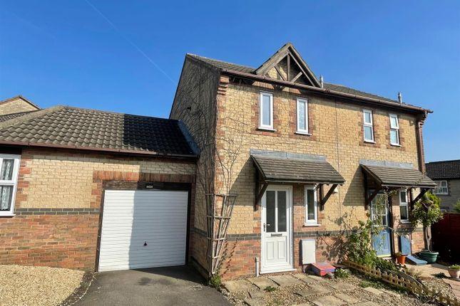 Thumbnail Terraced house for sale in Swayne Close, Pewsham, Chippenham