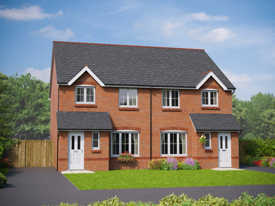 Thumbnail Detached house for sale in The Clwyd, Parc Hendre, St George Road, Abergele, Conwy