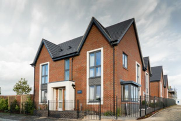 Thumbnail Flat for sale in Gill Crescent, Houlton, Rugby