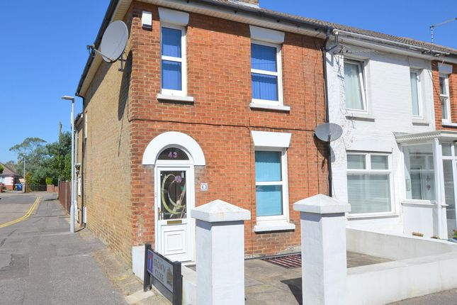 Thumbnail End terrace house for sale in Victoria Road, Parkstone, Poole