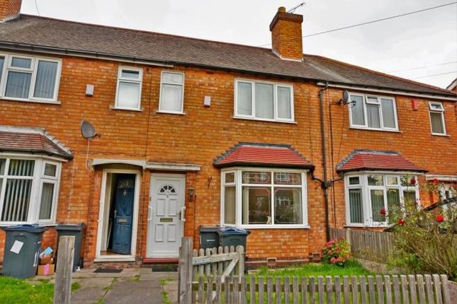 Thumbnail Terraced house to rent in Tufnell Grove, Birmingham