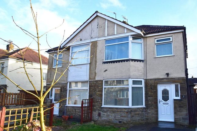 Thumbnail Semi-detached house to rent in Hallows Road, Keighley, Bradford, West Yorkshire