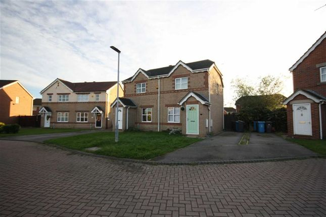Thumbnail Semi-detached house to rent in Navigation Way, Victoria Dock, Hull
