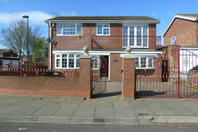 Thumbnail Detached house for sale in Catton Place, Wallsend