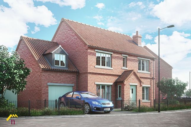 Thumbnail Detached house for sale in Plot 27 The Moorings, Off Of White Lane, Thorne