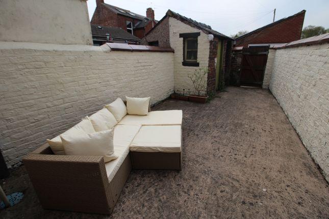 Outside of Colville Terrace, Carlisle, Cumbria CA2