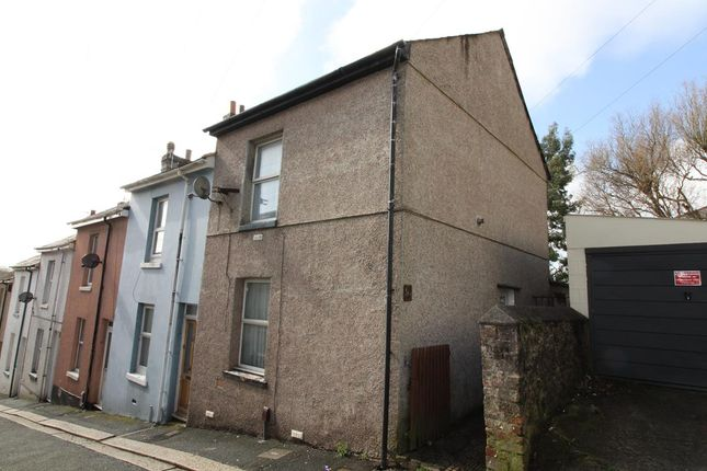 Thumbnail End terrace house for sale in Brandon Road, Plymouth
