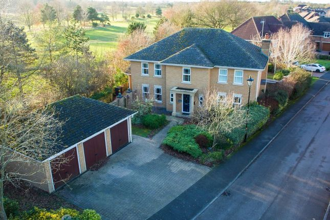 Thumbnail Detached house for sale in Turnberry Lane, Collingtree Park, Northampton