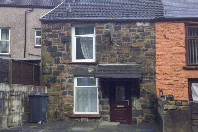 Thumbnail Terraced house to rent in Bridge Street, Abertillery
