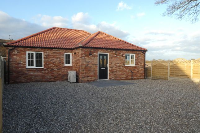 Thumbnail Detached bungalow for sale in Castle Road, Wormegay