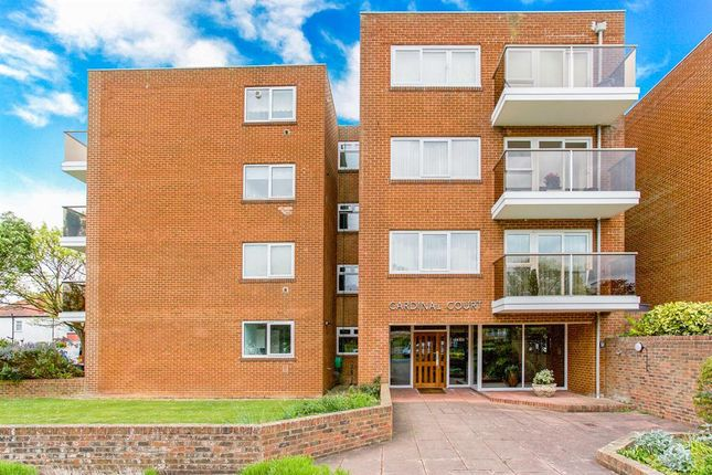 Thumbnail Flat for sale in Cardinal Court, Grand Avenue, Worthing