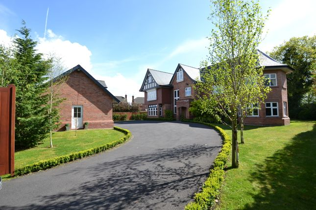 Thumbnail Detached house for sale in Hale Road, Hale Barns, Altrincham
