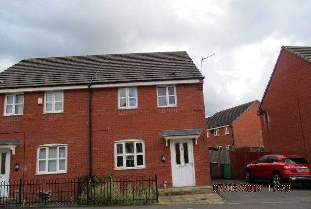 Thumbnail 3 bed semi-detached house for sale in Braithwaite Road, Manchester