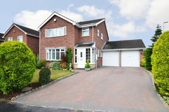 Thumbnail Detached house for sale in Carisbrooke Way, Stoke-On-Trent